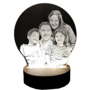 Laser Engraved LED Frames