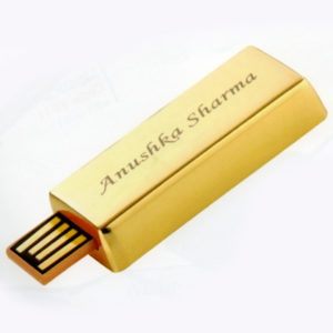 Gold Pendrive