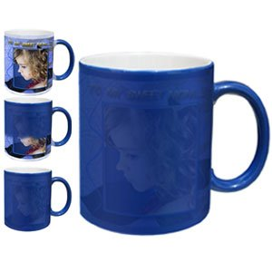 magic mugs blue color changing unique personalized gift