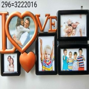 LOVE COLLAGE CLOCK