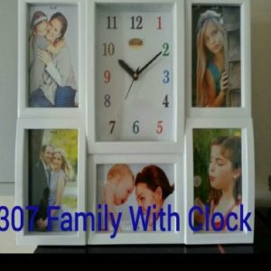 CLOCK WHITE FRAME