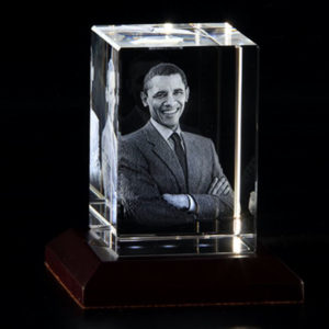 3D Photo Crystal Box Shaped ( 3D-1001 )