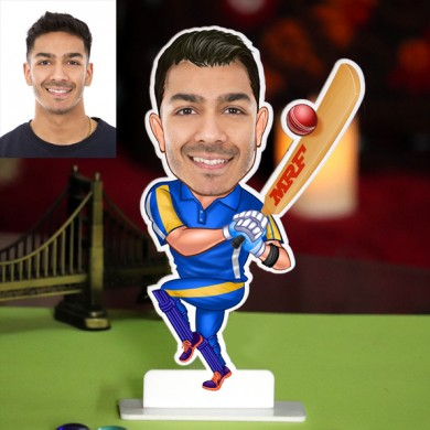 CRICKETER CARICATURE