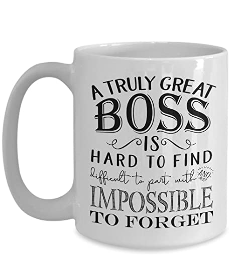 TRULY GREAT BOSS